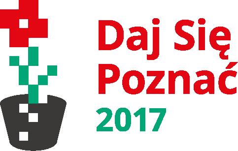 Logo konkursu Daj Się Poznać 2017