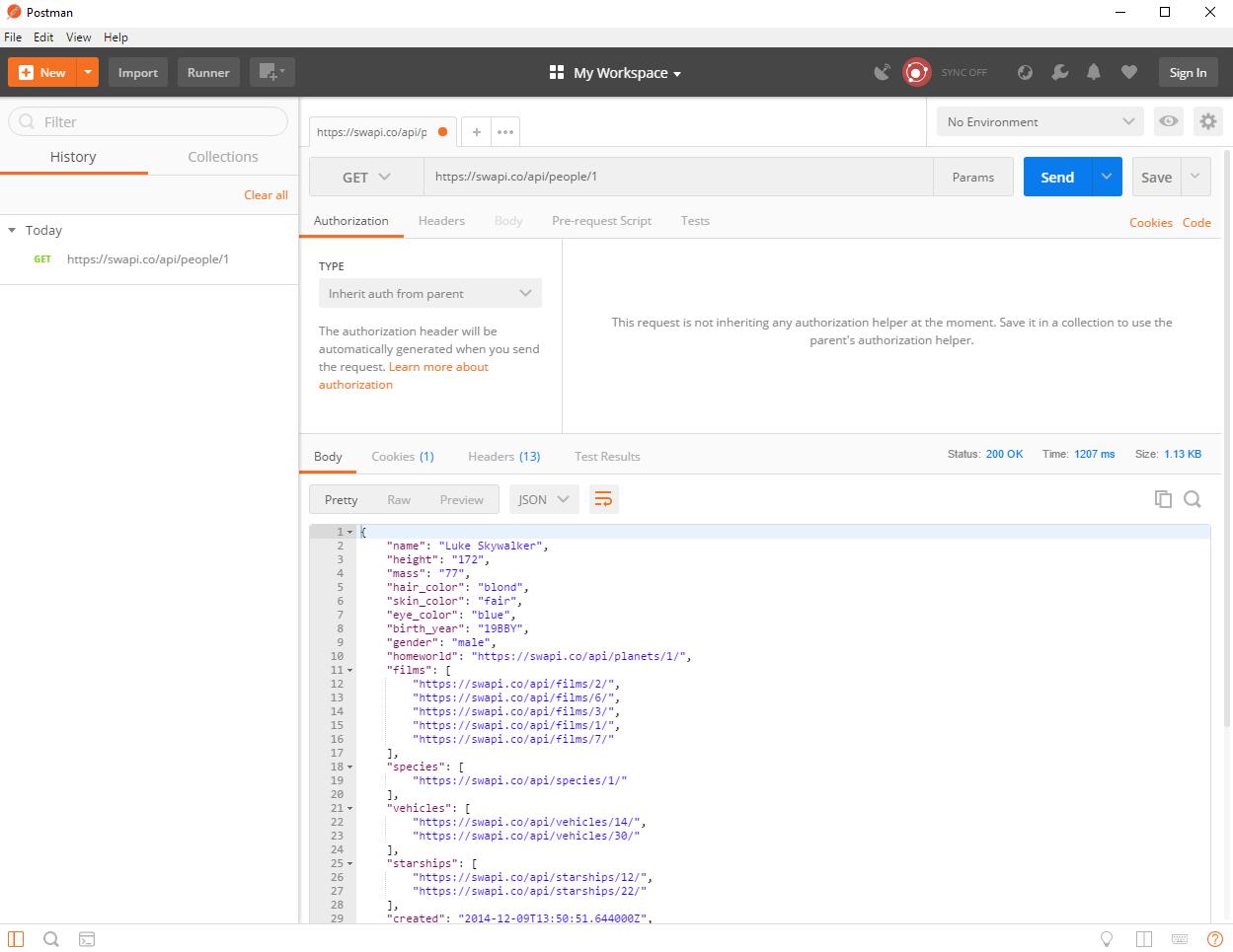 Komunikacja z API - Postman