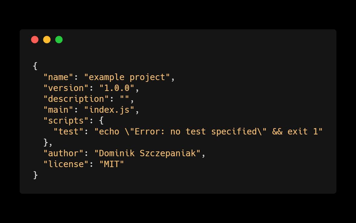 npm - package.json