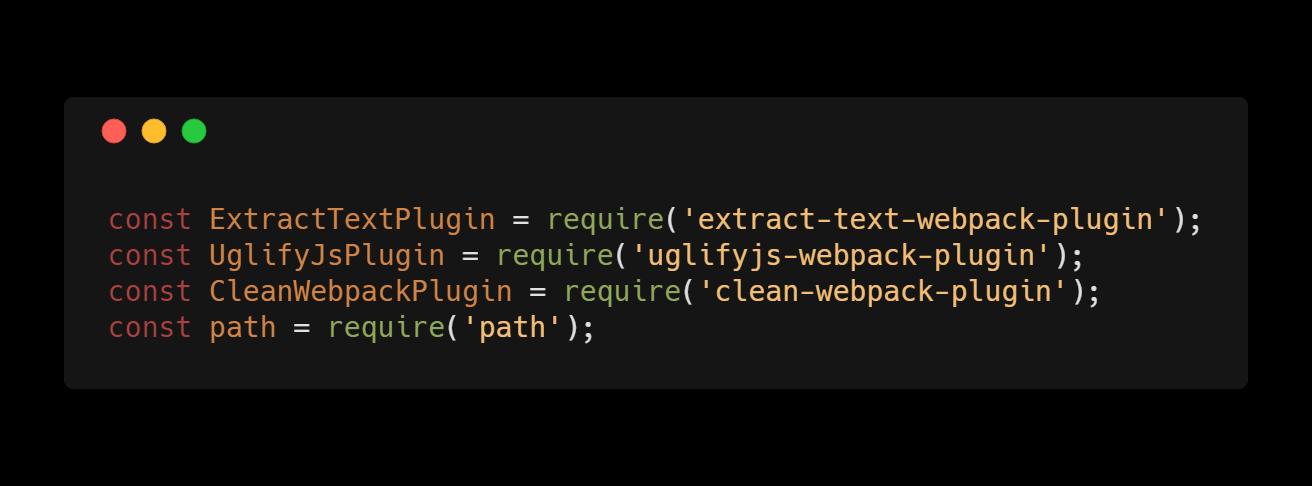 Webpack - moduły