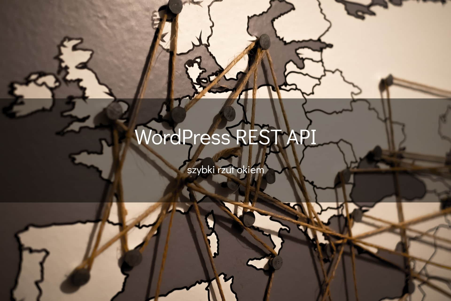 Rzut okiem na WordPress REST API