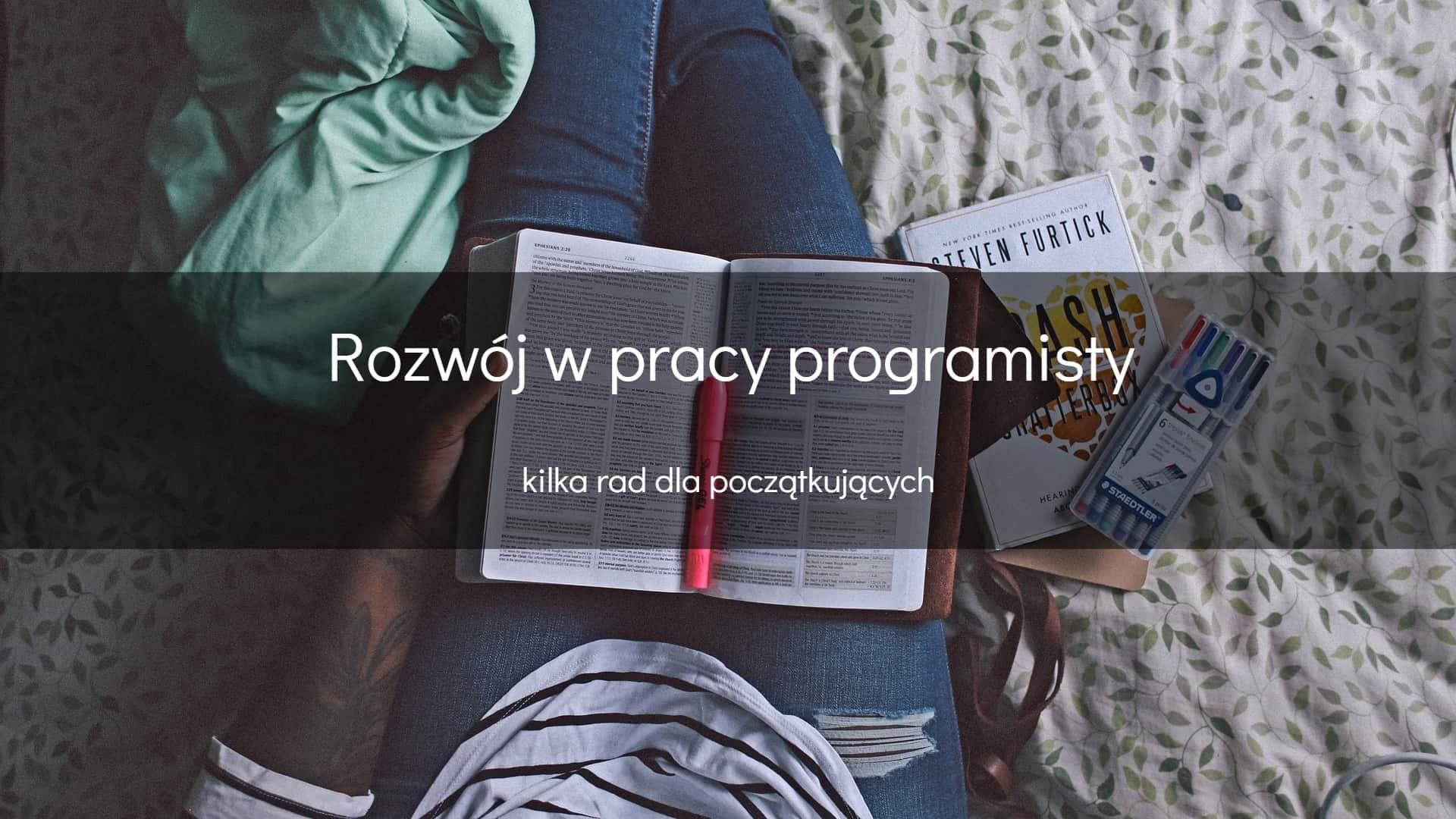 Rozwój w pracy programisty - okładka