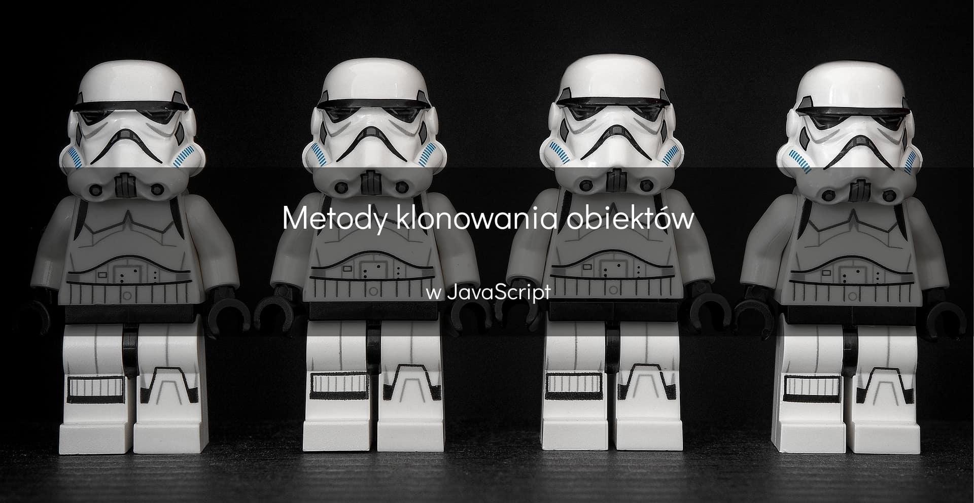 Klonowanie obiektów w JavaScript - okładka