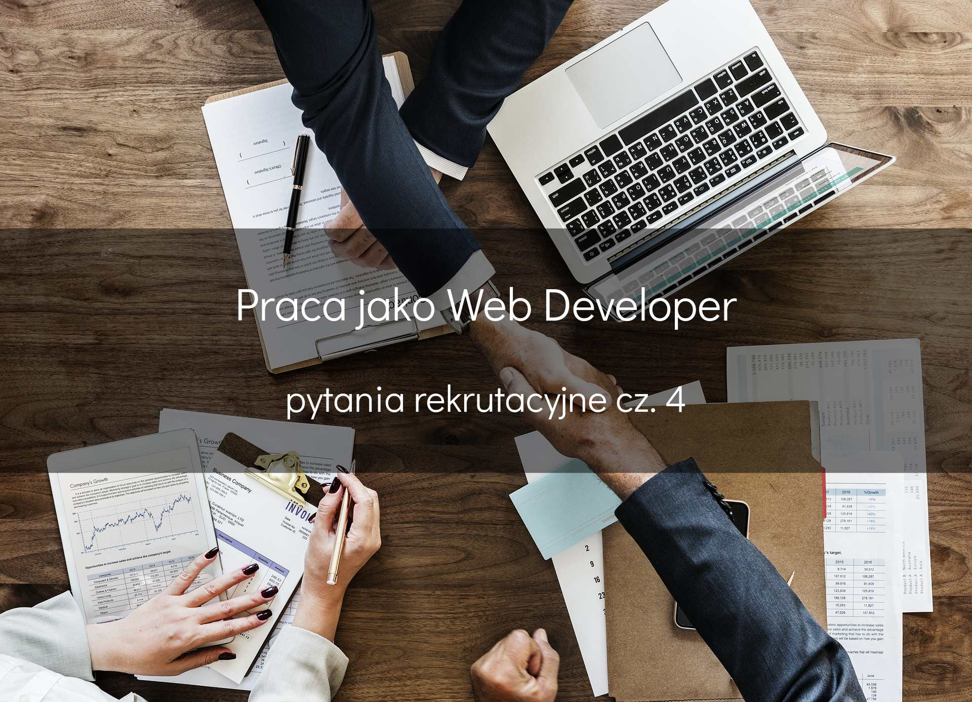 Pytania rekrutacyjne web developer - cześć 4
