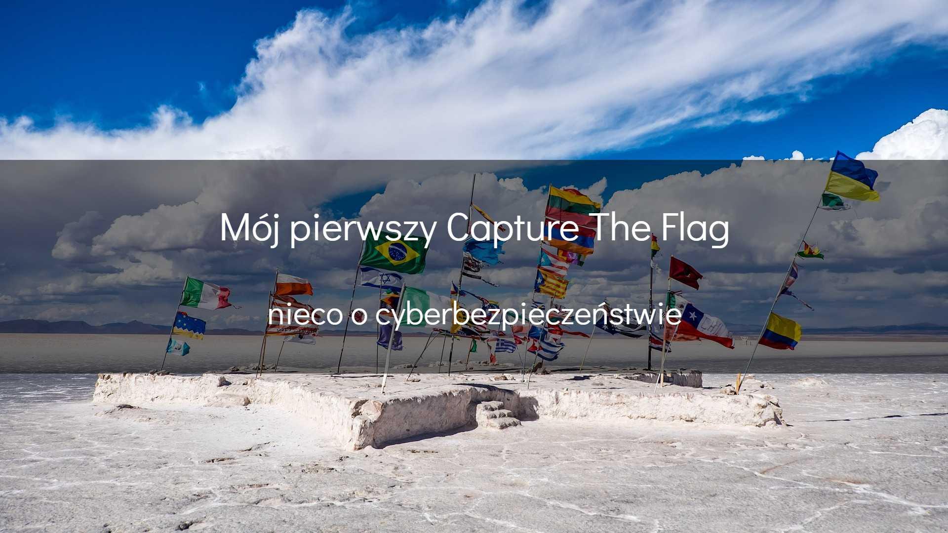 Mójpierwszy Capture The Flag